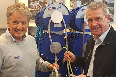 FSE Robline official cordage partner of Ant-Arctic-Lab