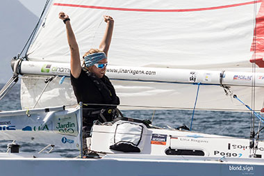 Successful Transatlantic Crossing by Lina Rixgens!