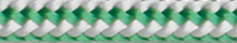Dinghy Control White-Green(1,7-4mm)