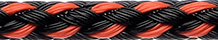 Dinghy Towing Line Black-Orange