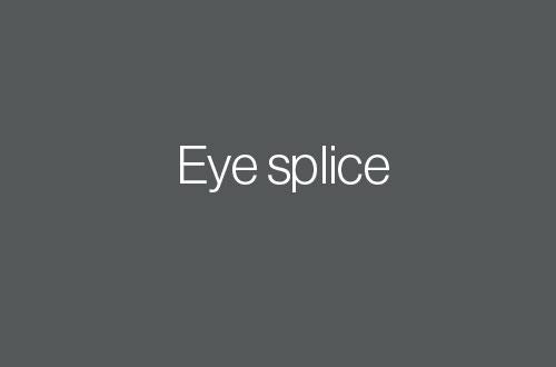 Splicing Guide Eye Splice