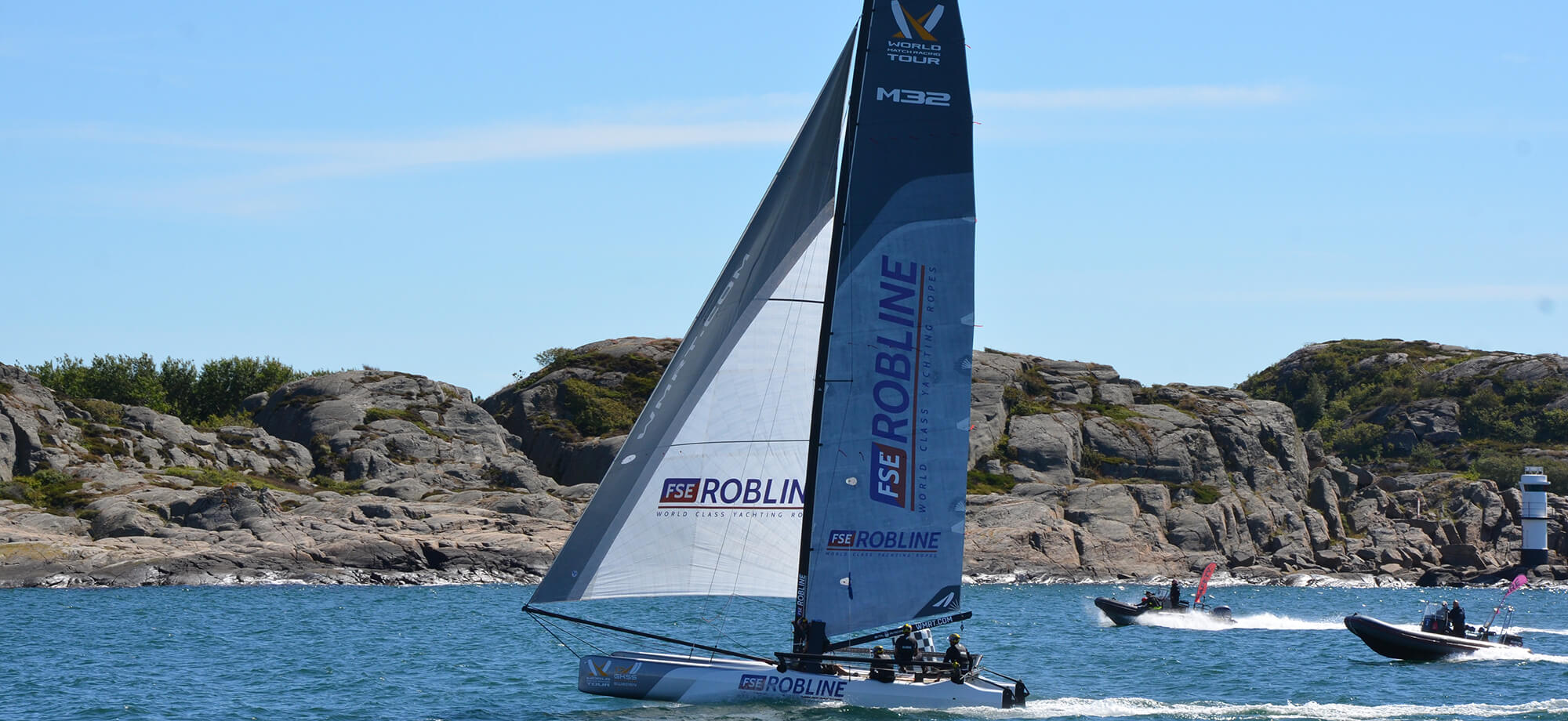 M32 Marstrand event fully supported by FSE Robline