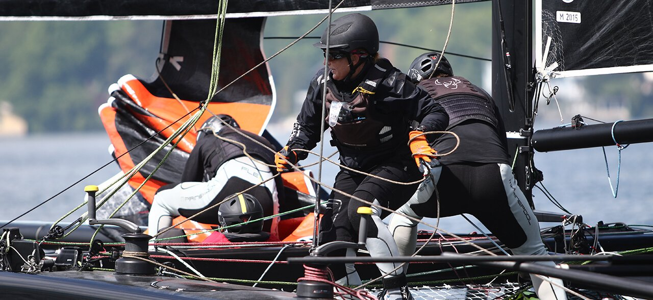 Ropes of FSE Robline on GC32